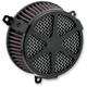 Black Spoke Air Cleaner Kit - 606-0102-04B