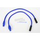 Blue 409 Pro Race Wires w/180 degree Boot - 40634