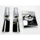 Chrome Fork Tins with Slider Covers - DS-222911