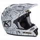 Stealth White F4 ECE Certified Helmet (Non-Current)