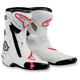 White/Red Vented S-MX Plus Boots