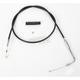 Alternative Length Black Vinyl Idle Cable for Custom Height/Width Handlebars - 0651-0148