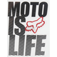 Moto Is Life Sticker - 14486-001-NS