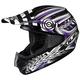 Black/Purple/White Charge CS-MX Helmet