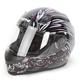 Black/Pink To the Nines SS700 Helmet