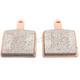 High Friction HH+ Sintered Metal Brake Pads - SDP518SNX