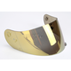 HJ-09 RST Gold Mirrored Shield for HJC and Joe Rocket Helmets - 19-006