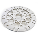 Front 11.5 in. Mesh Polished Stainless Steel Brake Rotor - 17102025