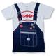 White RM Overalls T-Shirt
