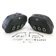 Rigid-Mount Specific-Fit Quick-Detach Drifter Slant Saddlebags - 3501-0232