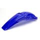 YZ Blue Rear Fender - 2040870211