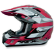 FX-17 Red Multi Helmet