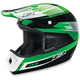 Youth Green Roost Volt Helmet