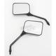 Black Universal Rectangular Mirrors - 20-46208