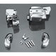Chrome Brake and Clutch Control Dress-Up Kit for Single Disc - 9126