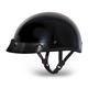 Hi-Gloss Black Skull Cap