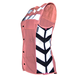 Womens Pink Meshed-Up Expandable Safety Vest