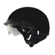 Matte Black Alto DDV Beanie Helmet