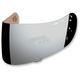 Mirror Silver Fog-Free Con Optics Shield for Airmada/Airframe Pro Helmets - 0130-0482