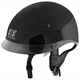 Gloss Black Solid Speed SS400 Helmet