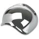 Chrome 3-Snap Bubble Shield - BV-CHR-00-SD