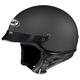 CS-2N Flat Black Half Helmet