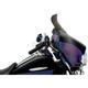 6.5 in. Replacement Smoke Spoiler Windshield for OEM FLHT Fairings - MEP8581