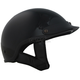Gloss Black Shorty Half Helmet