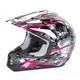 Fuchsia Multi FX-17 Inferno Helmet