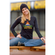 Womens Lotus Long Sleeve Tee