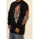 Black Ole Skool Dagger Long Sleeve T-Shirt