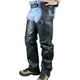 Heavy-Duty Unisex Leather Chaps