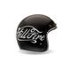 Black/Silver Custom 500 Helfire Helmet