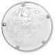 Chrome Engraved Ness-Tech Retro Derby Cover - 03-598