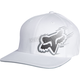 White Moving Forward Flex-Fit Hat