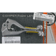 Competition Lever Set w/Yellow Grip - M557-31-10