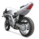 Superbike Rear Silver Undertail Fender Eliminator - S03SVSBSIL