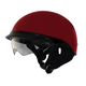 Black Cherry Red Alto DDV Beanie Helmet