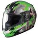 Youth Green/Black/Silver Katzilla CL-Y Helmet