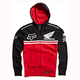 Black/Red Honda Race Pullover Hoody