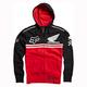 Black/Red Honda Race Pullover Hoody