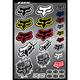 Fox Head Sticker Sheet Kit - 14506-000-NS
