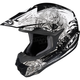 Black/White CL-X6 Kosmos Helmet