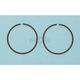 Piston Rings - 64.5mm Bore - 2539CD