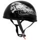 Biker Skull Original Half Helmet