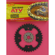520 Quad Z-Ring Chain and Sprocket Kit - 5QUAD092KPO0