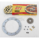 520 Quad Z-Ring Chain and Sprocket Kit - 5QUAD104KYA0