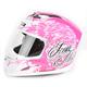 Airframe Street Angel Pink Helmet