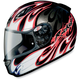 Black/Red/White RKT-Prime Rampage Helmet