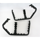 Race Peg Nerf Bars with Rear Nets - 601-6130X